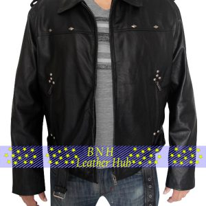 men wear AARON PAUL A LONG WAY DOWN JACKET